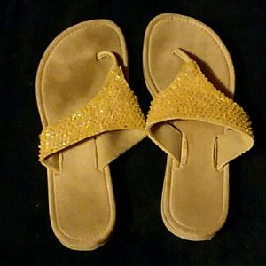 Well Worn Used Unbranded Women's Sandals Size 7.5